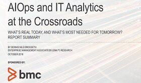 AIOps and Advanced IT Analytics at the Crossroads