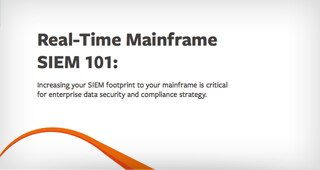Real-Time Mainframe SIEM 101