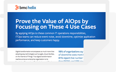 Prove the value of AIOps With These 4 Use Cases