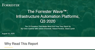 The Forrester Wave™: Infrastructure Automation Platforms