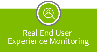 Real End User Experience Monitoring