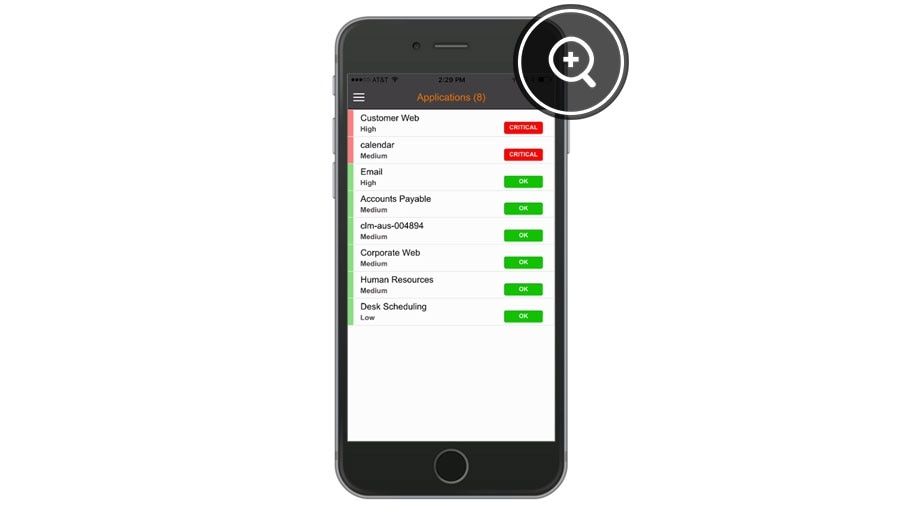 See and act on application status, right in the TrueOps for iOS app