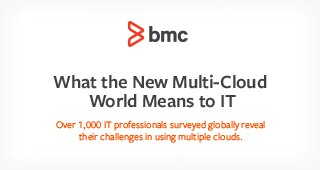 Infographic: What the New Multi-Cloud World Means to IT