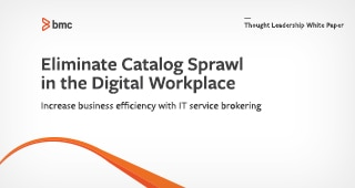 Eliminate Catalog Sprawl in the Digital Workplace