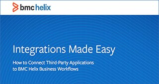 Integrations Made Easy: How to Connect Third-Party Applications to BMC Helix Business Workflows