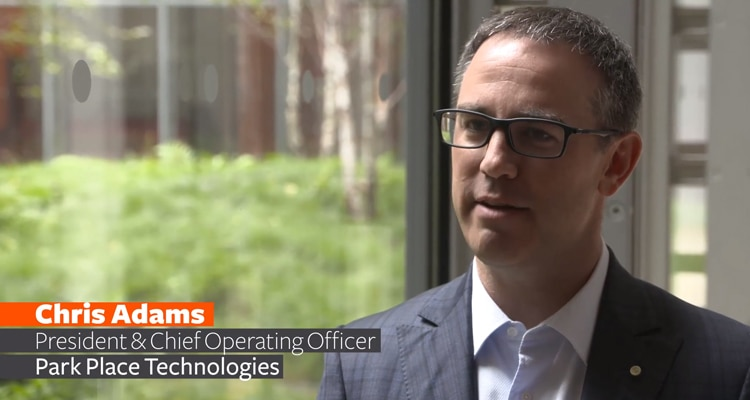 Video: Park Place Technologies Innovates with AI and Machine Learning (1:47)
