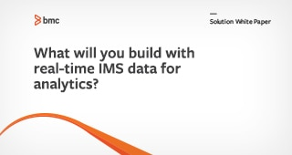What Will You Build With Real-time IMS Data?