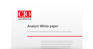 CIO white paper: Workload Automation: Greater Efficiency, Greater Competitiveness