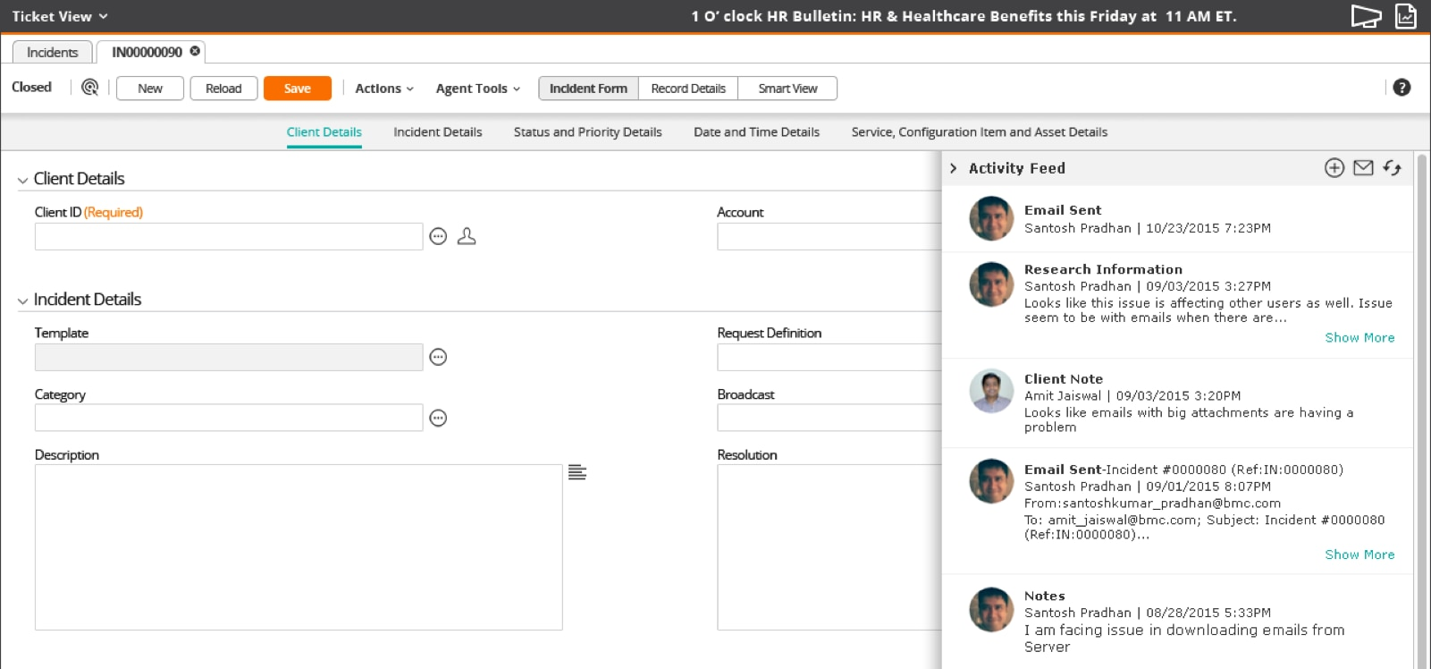 Problem Management: Remedyforce Features And Integrations