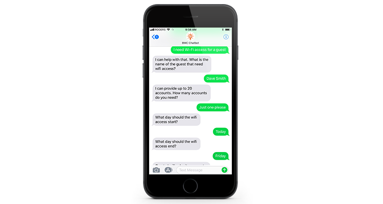 Digital Workplace Chatbot
