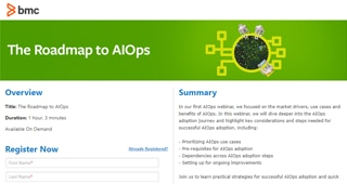 The Roadmap to AIOps