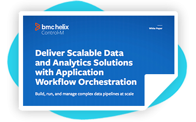Deliver Scalable Data and Analytics Solutions with Application Workflow Orchestration