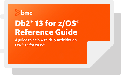 DB2 for z/OS Reference Guides
