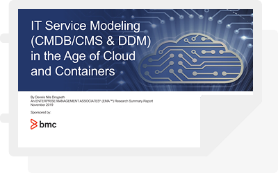 EMA Report: IT Service Modeling