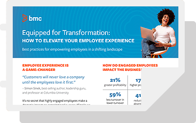 Equipped for Transformation: How to Elevate Your Employee Experience